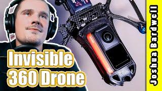 """True """"God Mode"""" camera (invisible 360 FPV drone StanFPV Cine-Bird)"""