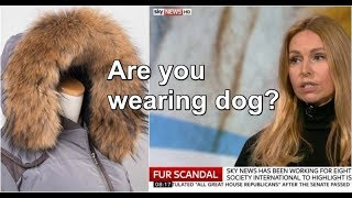 PEOPLE ARE WEARING DOG FUR THIS CHRISTMAS