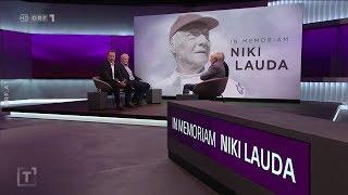 Talk In Memoriam Niki Lauda  Der Talk Mit Weggefährten Di., 21.5.2019