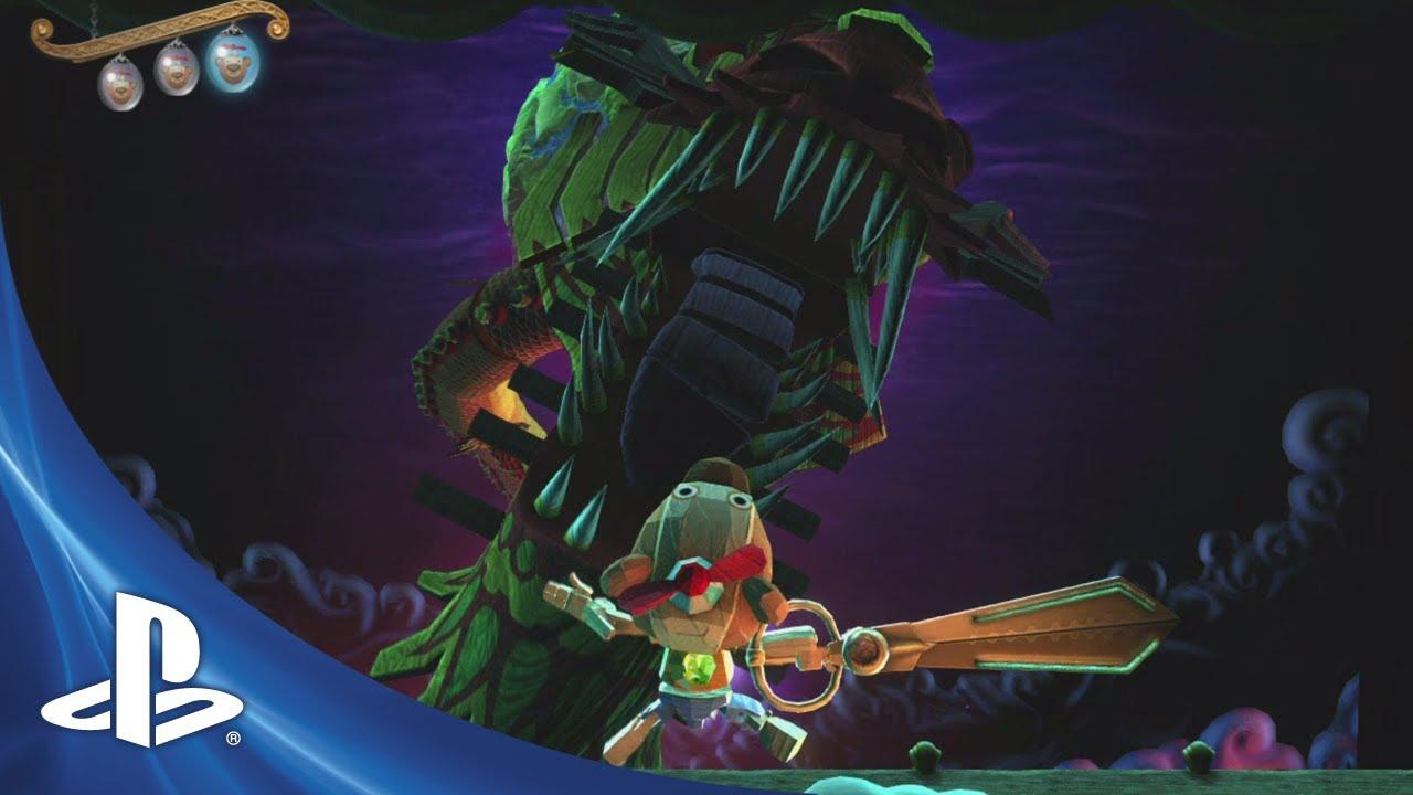 Puppeteer: Hero Heads, E3 Trailer & Pre-Order Extras Revealed