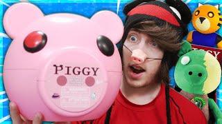 MINITOON SENT ME PIGGY TOYS.. *SECRET SKIN CODES* | Roblox Piggy Toys Unboxing