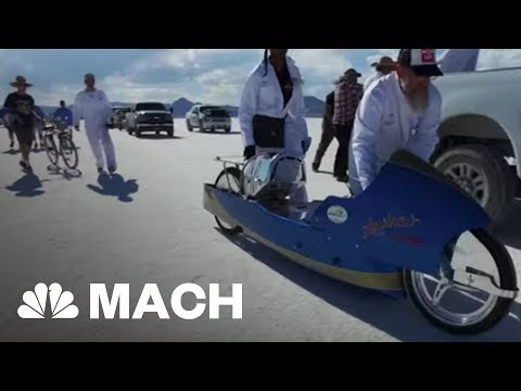 Chasing 200 MPH: One Man's Journey To Build The World's Fastest Vintage Motorcycle | Mach | NBC News