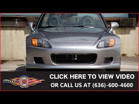 Video of '01 S2000 - J26H