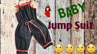 DIY Skirt dungaree Dress for BaBy girl // cutting and