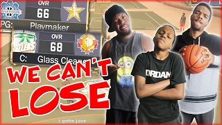 NBA 2K17 MyPark - WE CAN'T LOSE TO THEM!