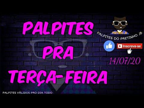 PALPITES JOGO DO BICHO 14/07/2020