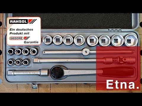 Review: Vintage Rahsol/Gedore socket wrench set (Knarrenkasten!)