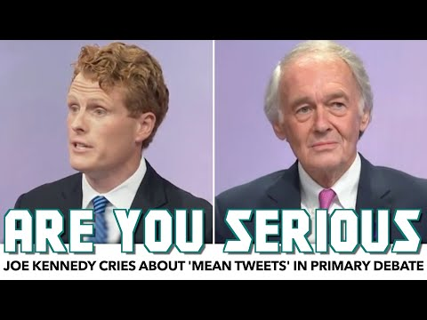 Joe Kennedy Cries About 'Mean Tweets' In Debate With Ed Markey