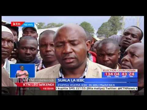 Mizozo inayoshuhudiwa kuhusu zabuni kwa tume ya IEBC inatilia shaka