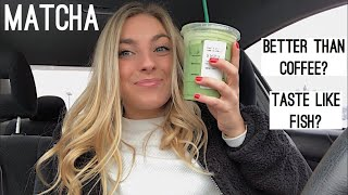 Coffee Lover Tries Matcha For The First Time | Morgan Green