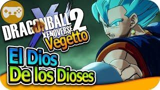 VEGETTO SSG EL DIOS DE LOS DIOSES | DRAGON BALL XENOVERSE 2