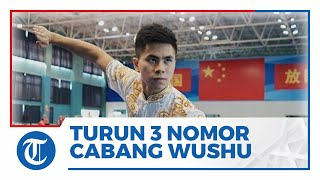 Perebutkan 3 Poin, Edgar Xavier Marvelo Turun di 3 Nomor Cabang Wushu dalam Pagelaran PON XX Papua