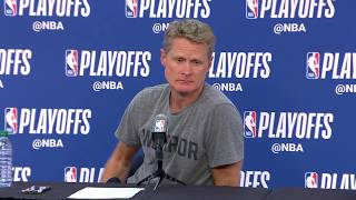 Steve Kerr Postgame Interview - Game 4 | Warriors vs Pelicans | May 6, 2018 | 2018 NBA Playoffs - Video Youtube