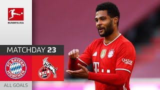 Gnabry & Lewandowski score twice   FC Bayern München - 1. FC Köln   5-1   All Goals   MD 23