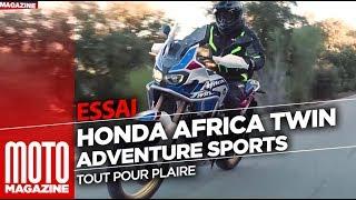 Honda Africa Twin Adventure Sports 2018 - Essai Moto Magazine