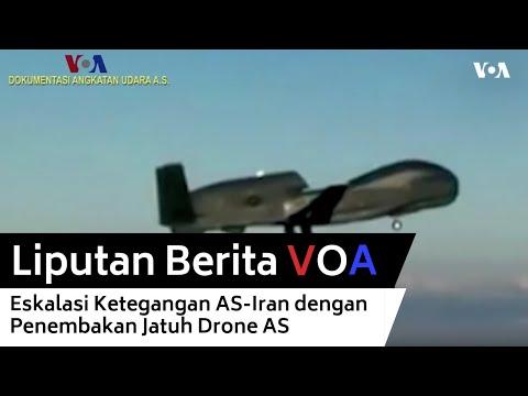Eskalasi Ketegangan AS-Iran dengan Penembakan Jatuh Drone AS