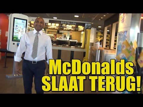 McDonalds SLAAT TERUG! Bewijs dat ze GEEN oplichters zijn!