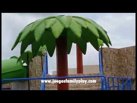 Toboganes para piscina - Juegos Recreativos Infantiles Family Play