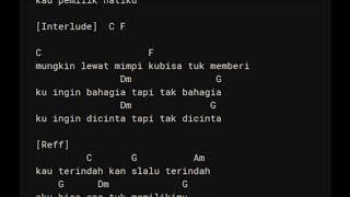 Pemilik Hati - ARMADA Chord Lirik