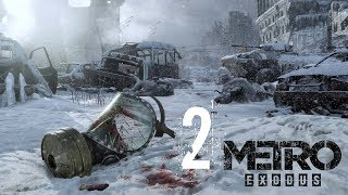 SAVING MY WIFE \\ OPEN WORLD HARDCORE SURVIVAL \\ ( Metro Exodus ) Part 2