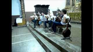 preview picture of video 'Concierto de la coral y rondalla de Uncastillo en Lobera de Onsella'