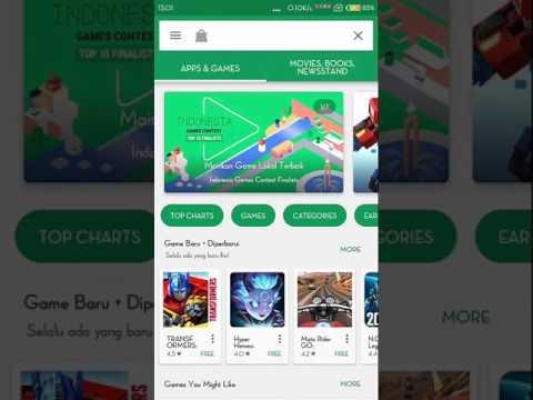 Video Cara mengatasi Google Play Store (Tidak bisa download aplikasi dengan data seluler) di HP Xiaomi