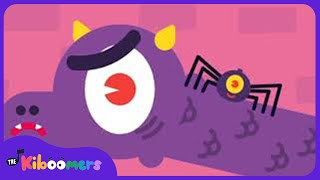 There's A Spider On The Floor | Song for Kids | The Kiboomers