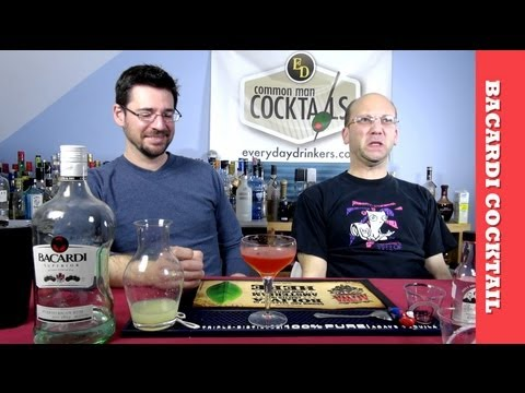 Video The Bacardi Cocktail, How-To Sour Drink