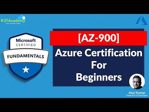 [AZ-900] Microsoft Azure Fundamentals Certification Exam ...