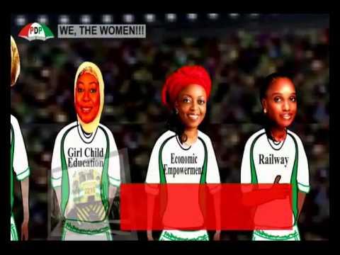 PDP NIGERIAN WOMEN 2015 - HAUSA.mp4