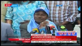 Wiper's Kalonzo Musyoka welcomes CCU leader Wavinya Ndeti backing her Machakos gubernatorial bid