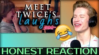 HONEST REACTION to A guide to TWICE: LAUGH COMPILATION