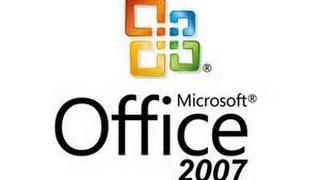 تحميل مايكروسوفت اوفيس 2007 مجاني