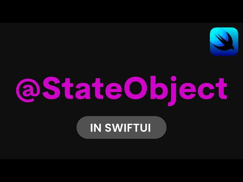 How to use StateObject in SwiftUI (SwiftUI Tutorial, SwiftUI Data Flow, @StateObject SwiftUI) thumbnail