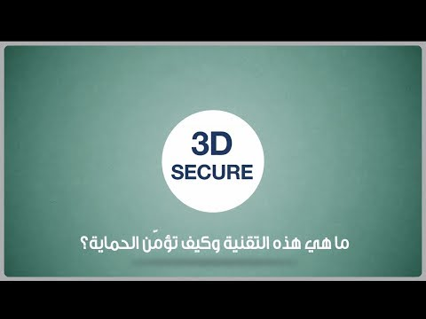 How does the 3-D Secure System ensure that your online purchases are protected?
