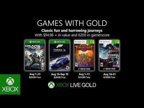 Xbox Games With Gold February 2020.Games With Gold August 2019 Confirmed Gears Of War 4 Forza