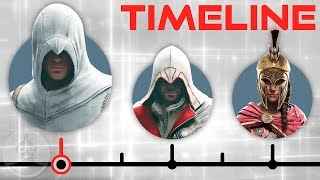 The Complete Assassin's Creed Timeline - Odyssey to Syndicate | The Leaderboard
