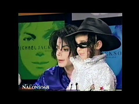 Michael Jackson - Invincible Signing Event 2001 | HD