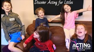 Discover Acting for Littles - The Audition