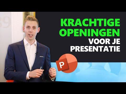 3 Zeer KRACHTIGE OPENINGEN Voor Jouw Presentatie | Presentatie tips | PPT Solutions