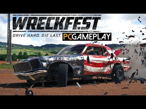 Gameplay de Next Car Game: Wreckfest