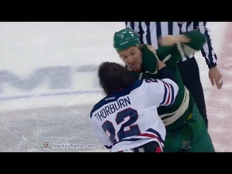 Chris Thorburn vs. Chris Stewart