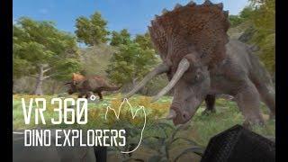 🌟VR360 다이노 탐험대 | VR360 DINO EXPLORERS | VR | 가상현실 | 트리케라톱스 | Triceratops VR  |  DINO VR