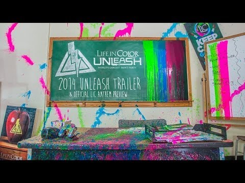 Life in Color: Unleash Tour Trailer