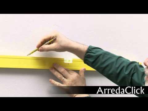 Come montare un mobile pensile per il bagno