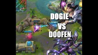 DOGIE vs DOOFEN - LUNOX vs KARRIE - MOBILE LEGENDS - RANK - GAMEPLAY