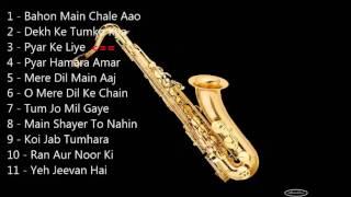 Saxophone instrumental Bollywood