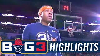 3's Company vs Ghost Ballers | BIG3 HIGHLIGHTS