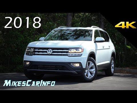 2018 Volkswagen Atlas SEL – Ultimate In-Depth Look in 4K VW Teramont