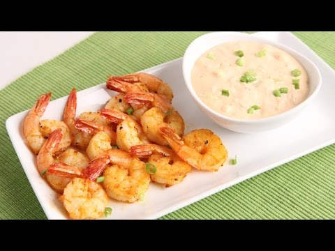 Roasted Bang Bang Shrimp Recipe – Laura Vitale – Laura in the Kitchen Episode 951